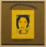 """RUBENS GERCHMAN (1942-2008). """"Lindonéia - O Amor Impossível"""", serigrafia a cores, 53 X 53. Assinado e datado (1966) no c.i.d."""