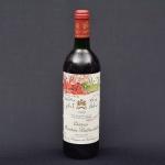 """CHÂTEAU MOUNTON ROTHSCHILD - PAUILLAC (PREMIER GRAND CRU CLASSÈ) 1989. Vinho tinto de """"Pauillac"""" (França). Combinado de uvas Cabernet Sauvignon, Merlot e Carbenet Franc. 750ml. Aromas de evolução com couro, terroso, begetal, taninos sedosos, acidez média, frutas vermelhas maduras, equilibrado e corpo médio."""